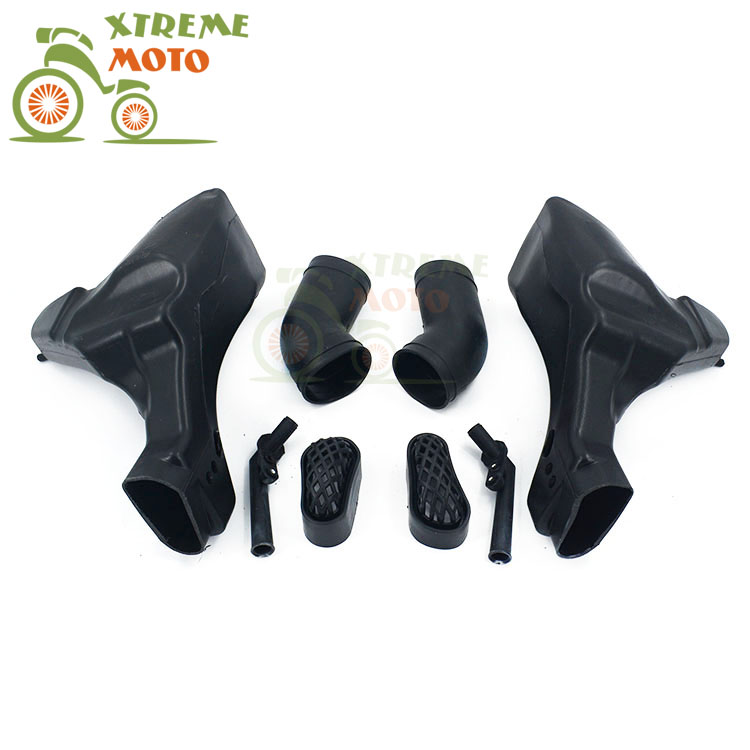 Motorcycle Air Intake Tube Duct Cover Fairing For KAWASAKI ZZR400 1993-2007 93 94 95 96 97 98 99 00 01 02 03 04 05 06 07 купить