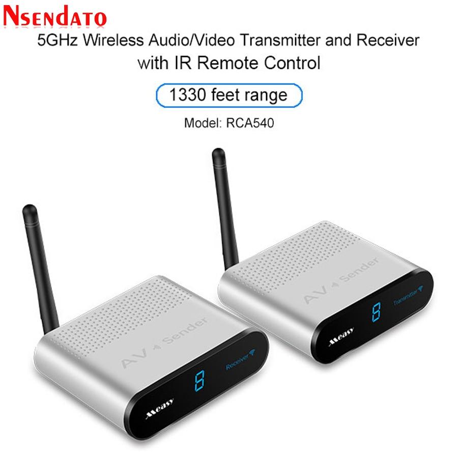 Measy AV540 5.8G Wireless AV Transmitter Receiver Audio Video SD TV AV Signal Sender receiver With IR Romote 400M / 1330FT велосипед scool chix classic 20 3 s 2017
