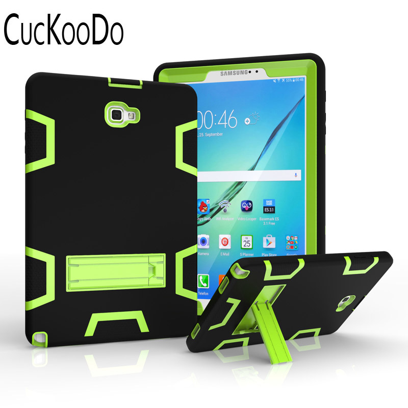 CucKooDo Heavy Duty Hybrid Protective Case with Kickstand Impact Resistant For Samsung G ...