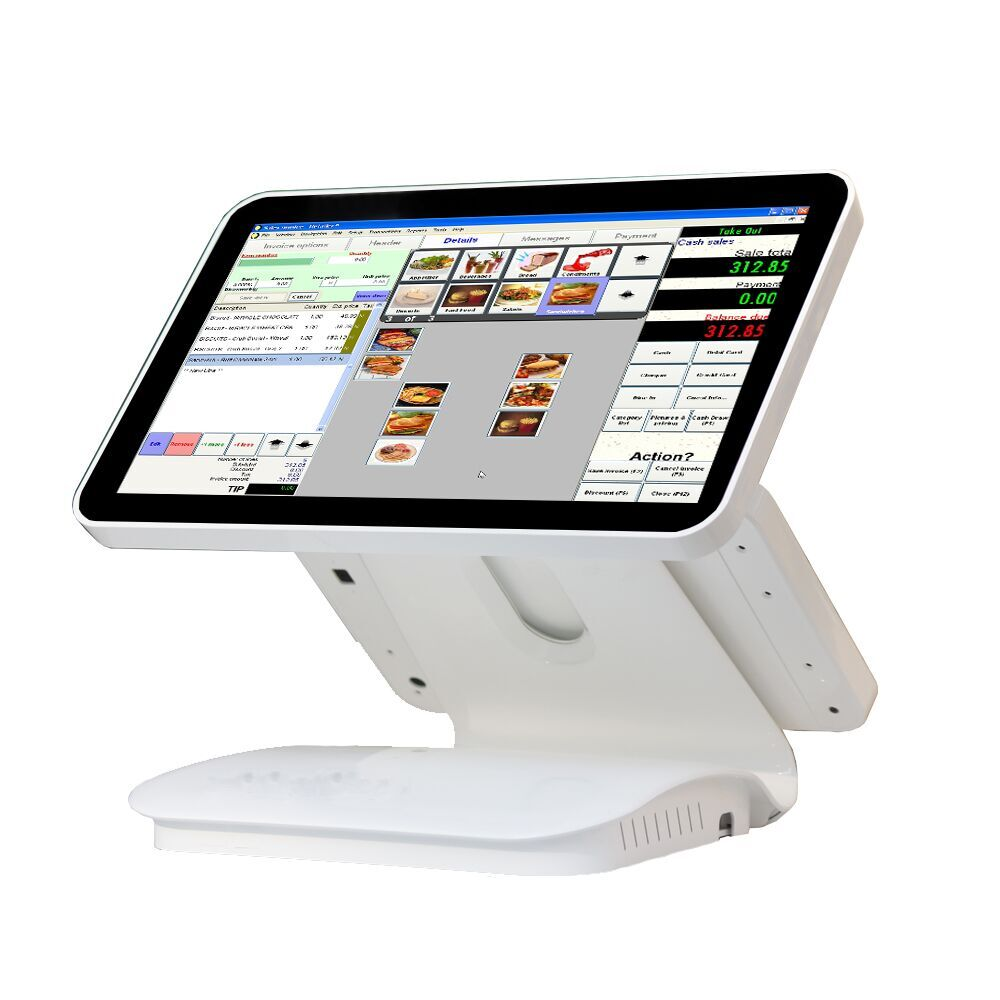 15 . 6 inch pos system capacitive touch panel 2GB 64GB memory for retail shop
