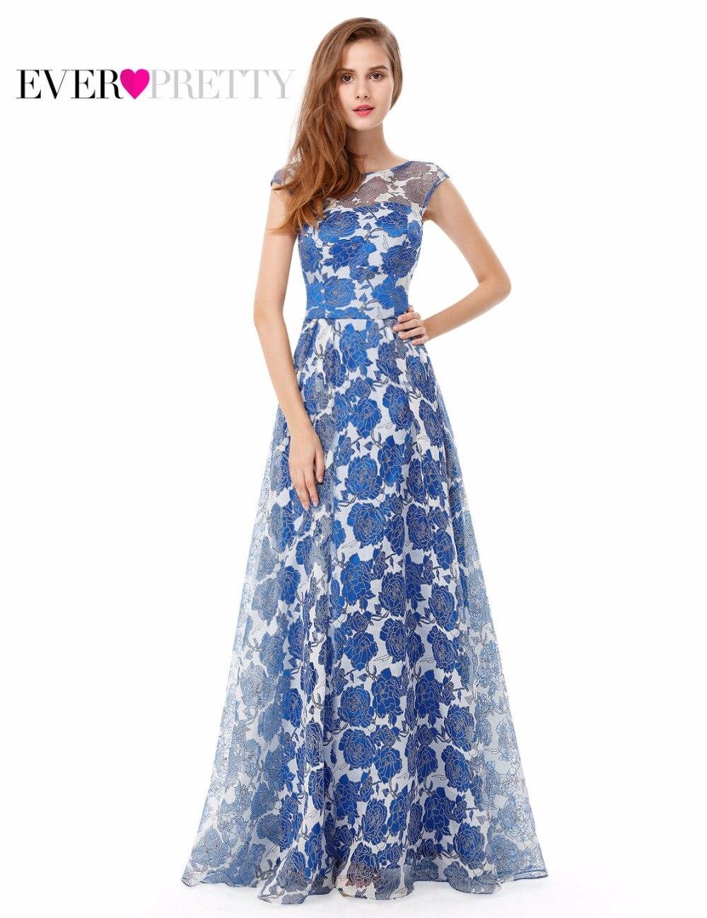 2017 New Arrival Prom Dress Long Womens Elegant Round Neck