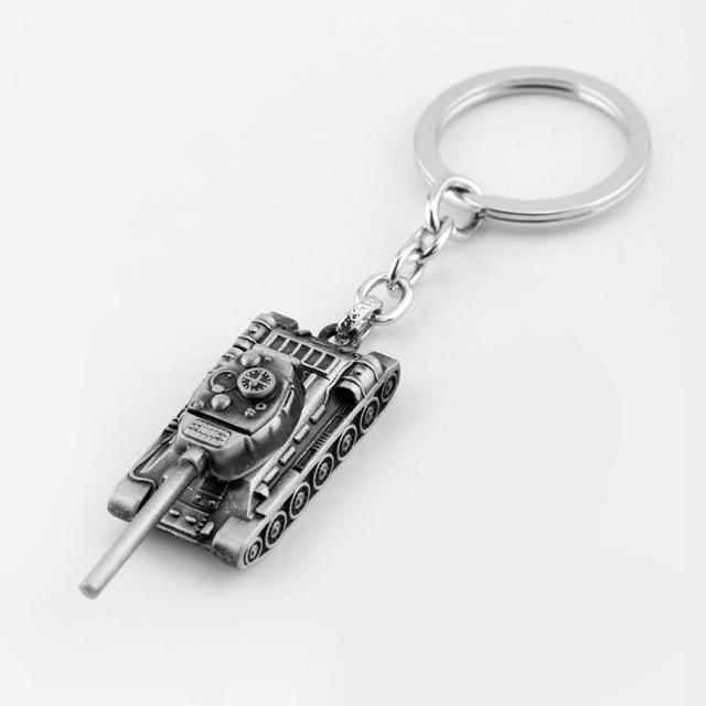 dongsheng World of Tanks WOT Hot Game 3Colors Metal Tank Key Ring Keychain Pendant Gift -50 4