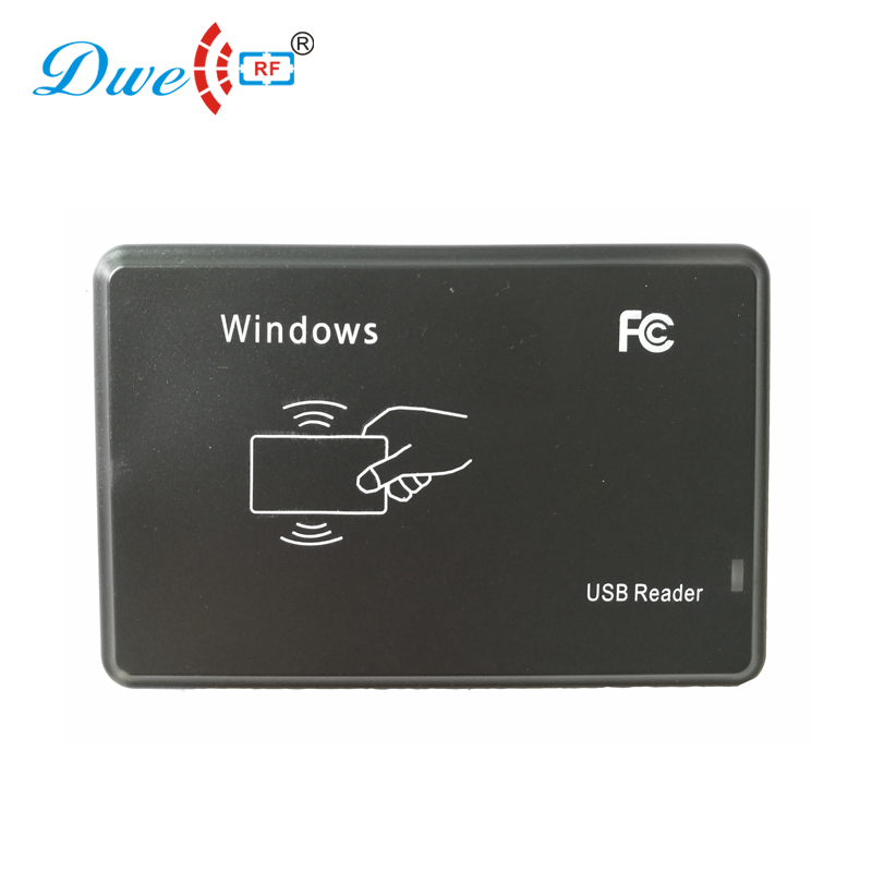 DWE CC RF USB to PC desktop rfid reader ID IC contactless chip card USB reader ic usb reader 13 56mhz usb ic reader for user enrollment mf m1 card enroller page 2