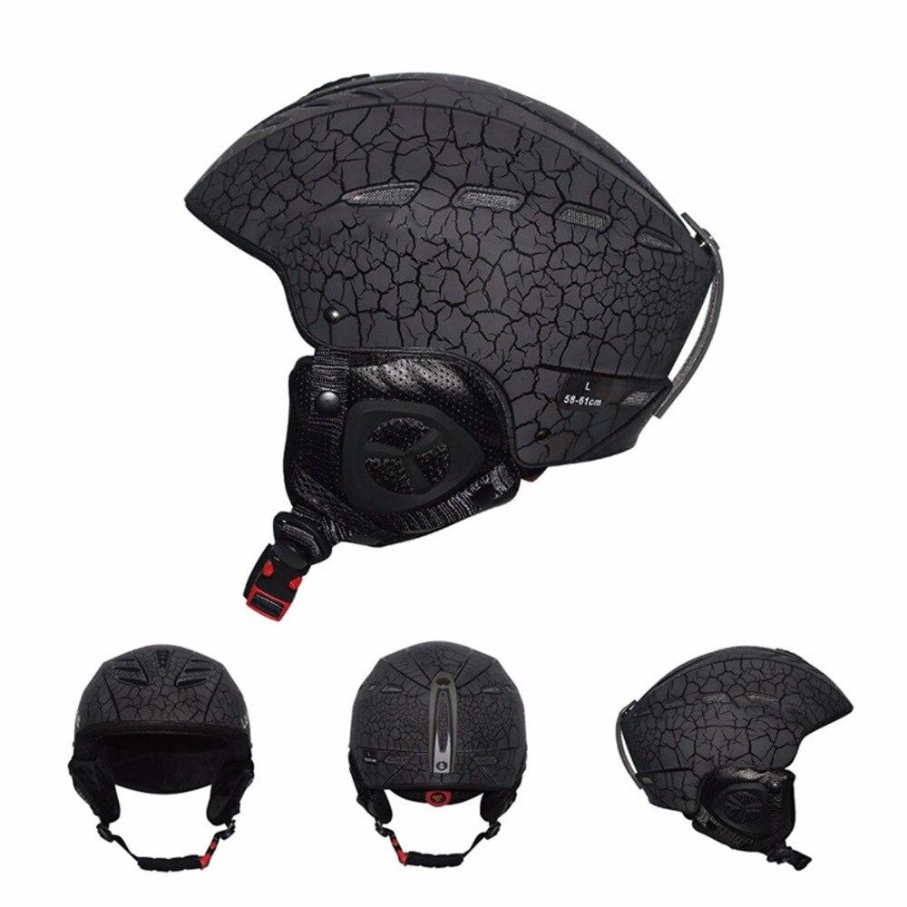 2018 Nouveau casque De Ski adulte casque de ski homme planche à roulettes de patinage casque multicolore neige sport casques 55-57 cm 58 -61 cm
