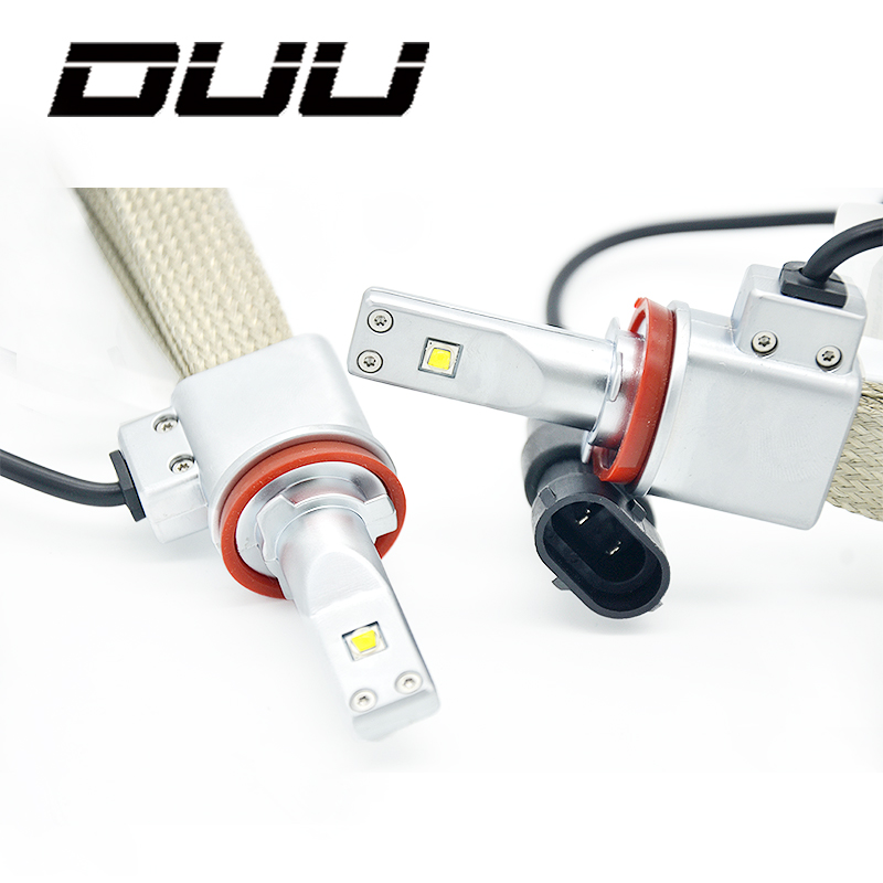 DUU ZES Car Headlight Bulbs H4 LED 9003 HB2 H4 H11 H8 9005 HB3 9006 HB4 H7 LED Super Bright Spot Auto light Headlamp White