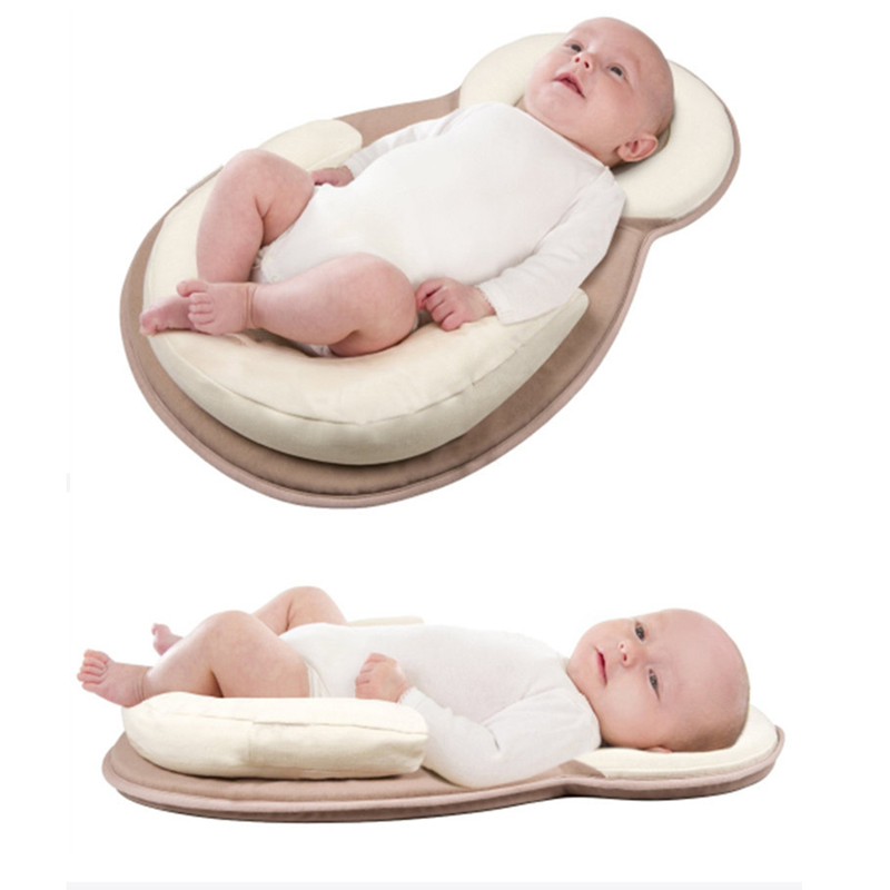 Baby Bed Portable Crib Bed Newborn Anti-rollover Pillow Infant Sleeping Cradle Baby Bassinet Children's Multifunction Crib