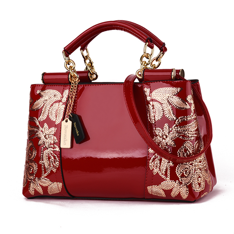 Nevenka Women Evening Handbag Female Leather Shoulder Bags Ladies Embroidered Evening Bag Luxury Handbags for Women09