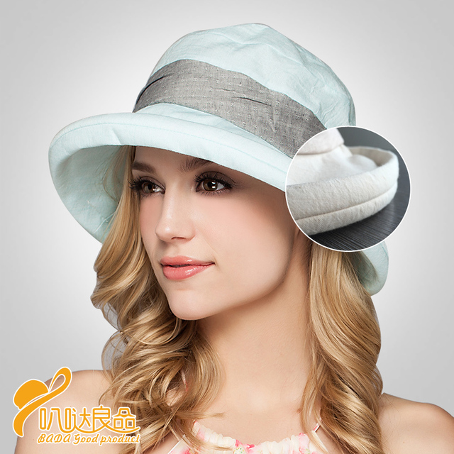 7eef596a723 2016 New Lady Sun Cap beach hats sombreros women summer hat
