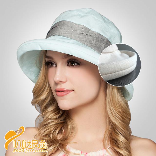 2016 Nueva Señora Casquillo de Sun beach sombreros sombreros de las mujeres sombrero de verano, muchacha grande bongrace sombrero de ala ancha flor Del Cordón sunhat B-2291