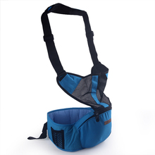 2 in 1 Baby Carrier Baby Hipseat With Belt Sling Breathable Ergonomic Backpack Kids Infant Hip Seat Double-shoulder Stool BB0015