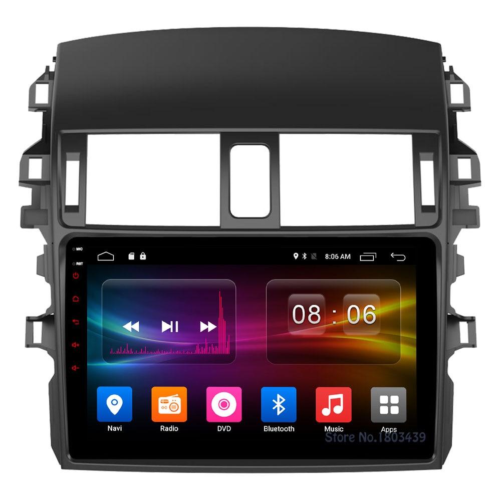C500+ 9 Android 6.0 Octa Core 2GB RAM 32GB ROM 4G LTE WIFI DAB+ Car DVD Multimedia Player Radio For Toyota Corolla 2009-2013