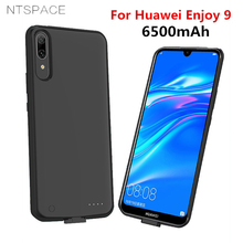 External Battery Charger cases For Huawei ENJOY 9 Power Bank Case 6500mAh Backup Portable Charging