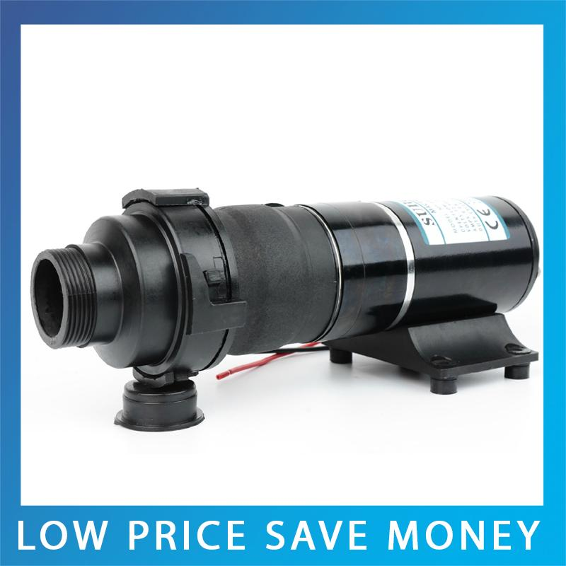 MP-3500 24V/12V DC Pool Trash Pump 45L/min Macerator Pump RV Trash Mashed Toilet Sewage Pump mp 4500 24 24v dc sewage macerator pump 45l min centrifugal water pump bilge sewage pump