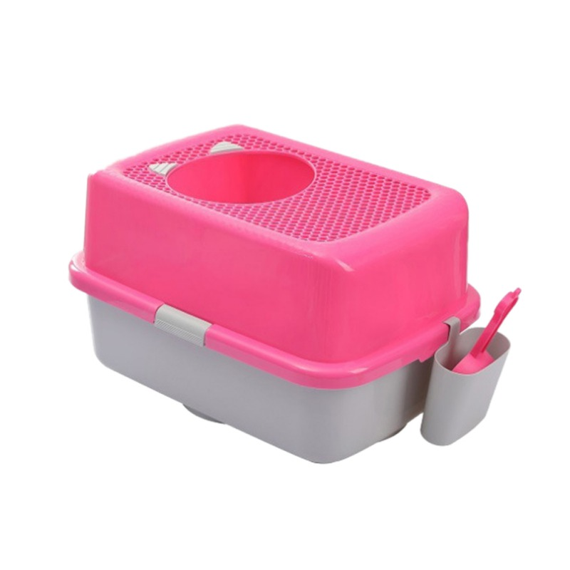 Dog Puppy Cat Kitten Litter Housebreaking Plastic Cleaning Tool Scoop Poop Shovel Waste Tray For Pet Products Supplies
