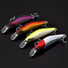 1 pcs Nổi Câu Cá Lure Minnow Crankbait ABS Nhựa Cứng Mồi Cá Chép Cá giải quyết Wobbles Isca Pesca nhân tạo 94mm10g