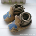 Baby Shoes corduroy fabric rib top pre-walkers unisex newborn shoes