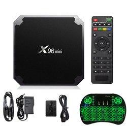 X96 mini Android 7.1 Smart TV BOX X 96 2GB 16GB 1GB 8GB Amlogic S905W Quad Core support 4K 30tps 2.4GHz WiFi X96mini Set top box