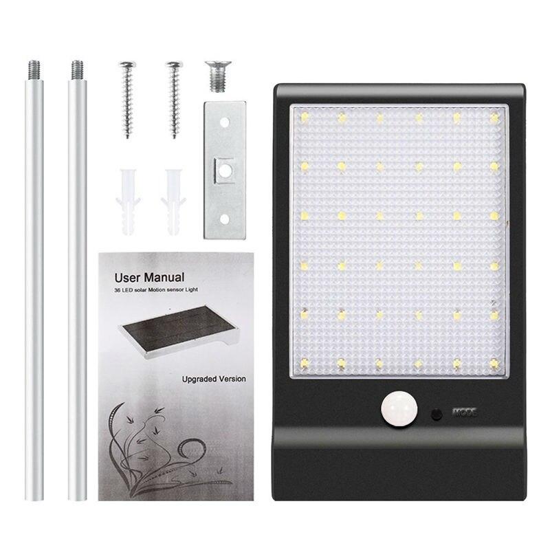 Solar Motion Sensor Street Lights
