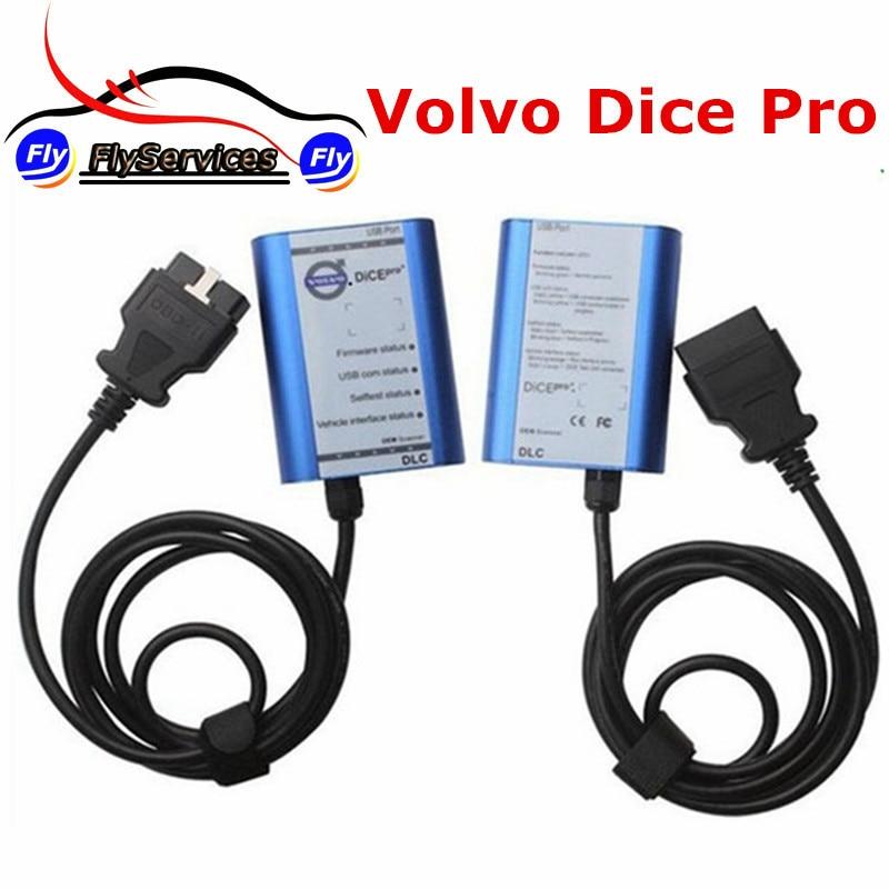 New Design For Volvo Dice Pro 2014D Multi-language Diagnostic Tool For Volvo Vida Dice Support Firmware Update&Self-Test