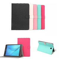 Luxury Fresh Embossed PU Leather Stand Case For Samsung Galaxy Tab A 8 0 T350 T351