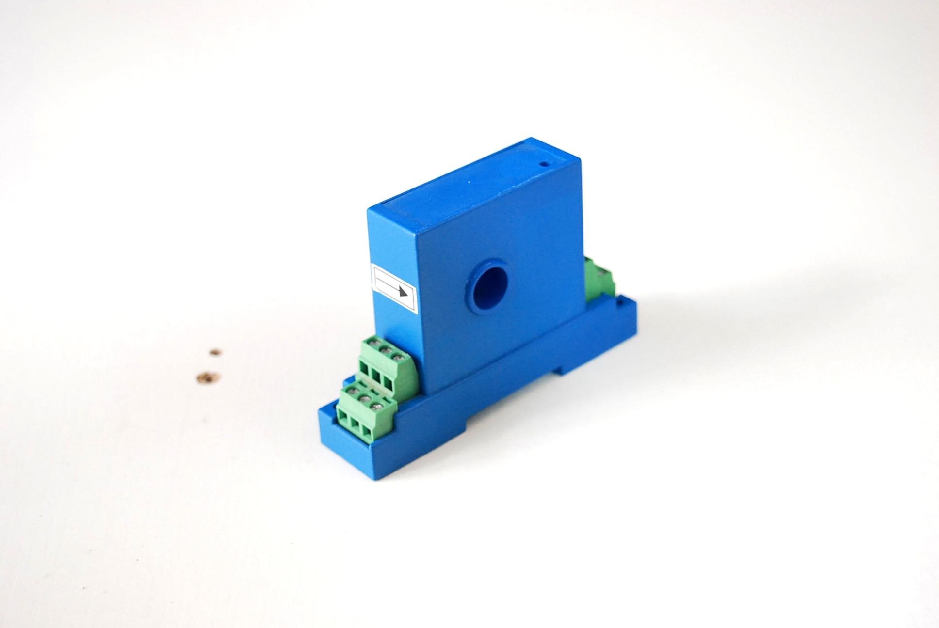 Transformateur de courant 4-20 MA deux fils AC 220 V AC capteur 10A puce unique 5A Module de mesure