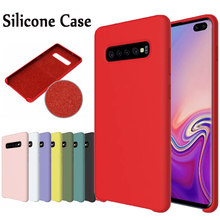 HYSOWENDLY Macaron Original Cases For Samsung Galaxy S7edge S8 S9 Plus Matte Silicone Note 8 9 Covers For Samsung S10 Lite Plus(China)