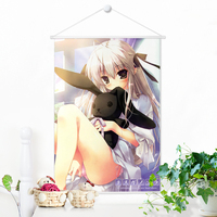 Japanese Anime Yosuga No Sora Microfiber Painting By Numbers Animation Wall Scroll Picture Print Poster 100x70cm