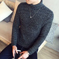 2016 New Autumn Fashion Men Sweaters Pullovers Knitting Thick Warm Designer Slim Fit Casual Knitted Man Knitwear Plus Size 5XL
