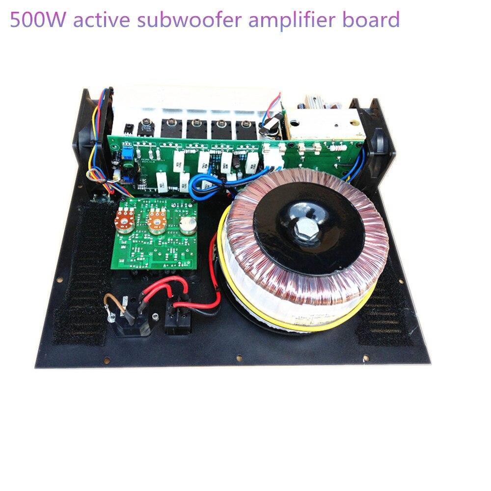 Amplificateur de caisson de basses Mono amplificateur de caisson de basses actif 500 W carte d'amplificateur de caisson de basses pur