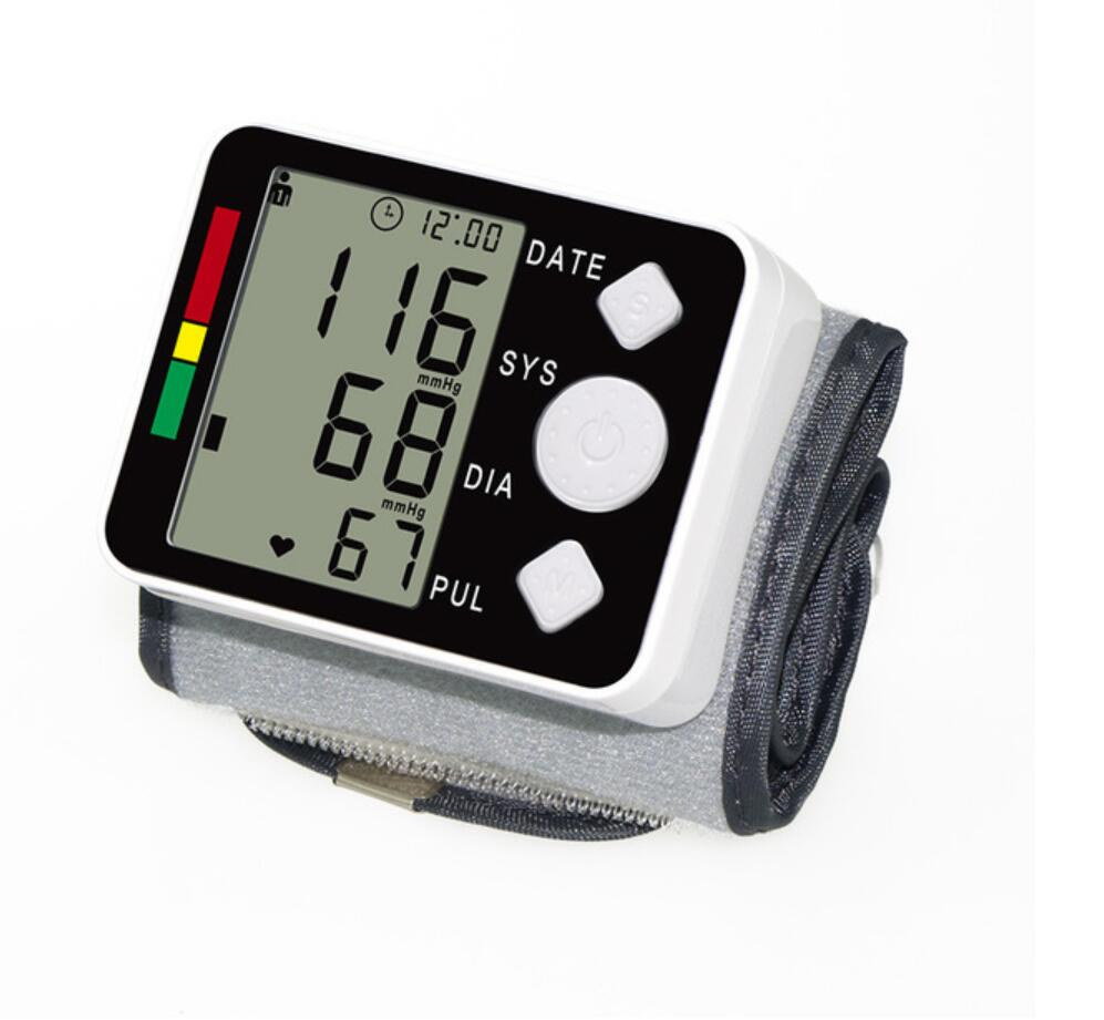 Image 4 - tonometer on the wrist blood pressure meter Monitor Digital Tonometer & Pulse Meter Health Care Sphygmomanometer diagnostic tool-in Blood Pressure from Beauty & Health