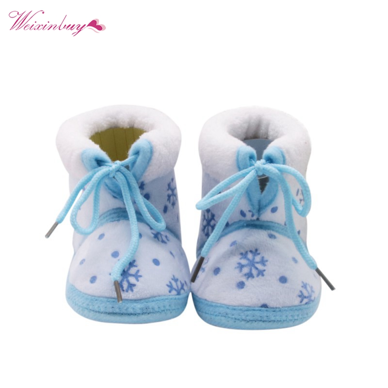 Kids Shoes First-Walkers Girls Infant Autumn Winter Boys Fashion Thick Children Ice-Flower