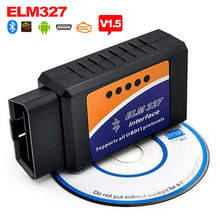 Super Mini ELM327 Bluetooth V1.5 OBD2 Car Diagnostic Tool Mini ELM 327 Bluetooth For Android/Symbian For OBDII Protocols LR20