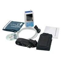 Новое поступление топ быстро 24 часов амбулаторно крови Давление монитор холтеровское ABPM манжеты + PC программное обеспечение