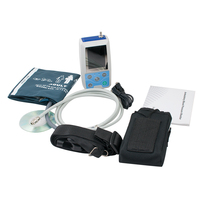 New Arrival Top Fast 24 hrs Ambulatory Blood Pressure Monitor Holter ABPM cuff + PC software