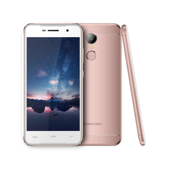 """Original Homtom HT37 5.0"""" Quad Core 2GB RAM 16GB ROM 3G WCDMA SmartPhone Android 6.0 MT6580 1.3GHz 3000mAh 8MP Mobile Cell Phone"""