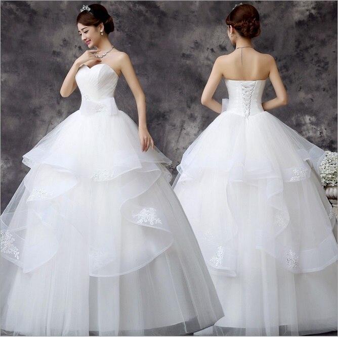 Popular Big Puffy Wedding Dresses Buy Cheap Big Puffy Wedding Dresses Lots From China Big Puffy