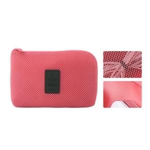 Image 2 - 고급 나일론 방수 여행 전자 액세서리 주최자 가방 케이스 충전기 케이블 등, 액세서리 가방