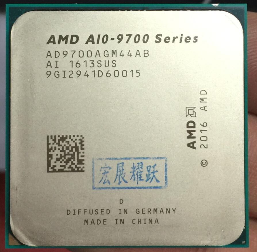 AMD  A10-Series A10-9700  A10 9700 APU Quad-Core CPU  100% working properly  PC computer Desktop Processor