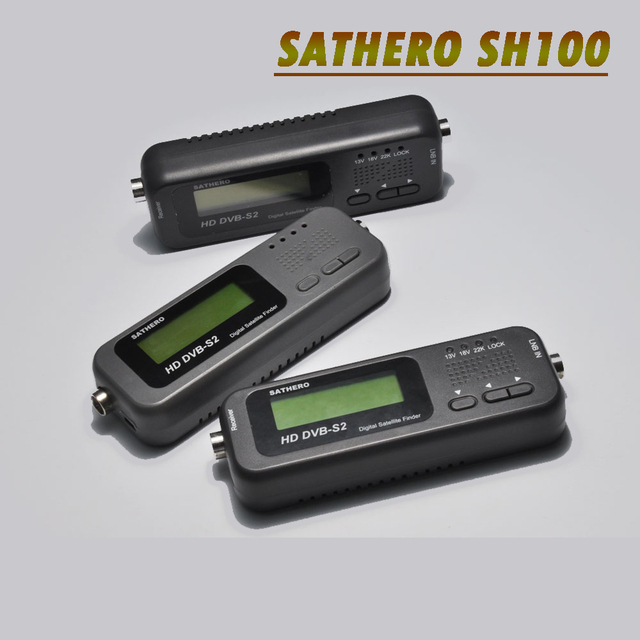 Sathero SH-100HD Digital Satellite Finder Satellite TV Receiver DVB-S/S2 HD Signal Meter USB 2.0 Sat Finder