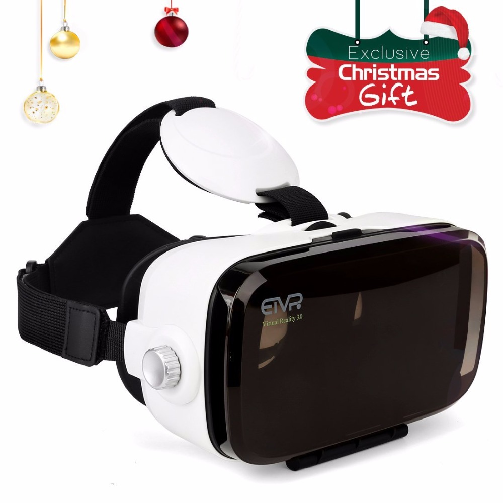ETVR D Virtual Reality Immersive Cardboard VR Glasses Headset For Inch Smartphone