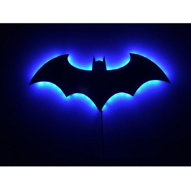 Batman lamp