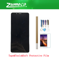 5.7 Inch For ZTE Nubia Z18 Mini NX611J LCD Display+Touch Screen Digitizer Assembly Replacement Part Black Color With Kits