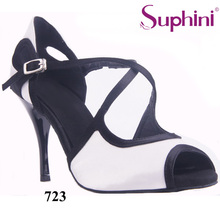 "Free Shipping Suphini Wedding Party Shoes Woman Tango Shoes 3.5"" Thin Heel Party Dance Shoes"