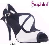 Free Shipping Suphini Wedding Party Shoes Woman Tango Shoes 3 5 Thin Heel Party Dance Shoes