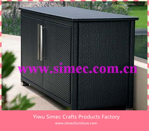 hdpe wicker rattan schrank scsc 005 in hdpe wicker rattan schrank scsc 005 aus garten sets auf. Black Bedroom Furniture Sets. Home Design Ideas