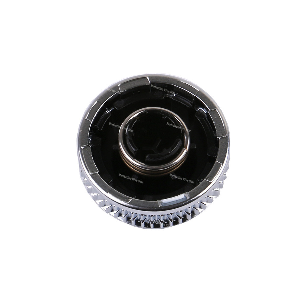 Fincos 4F0919070 MMI Volume Knob Rotary Button Switch Setting Navigation for Audi A6 C6 S6 Allroad 05-08 Q7 2007 2008 A8 S8 Color: 4F0919070