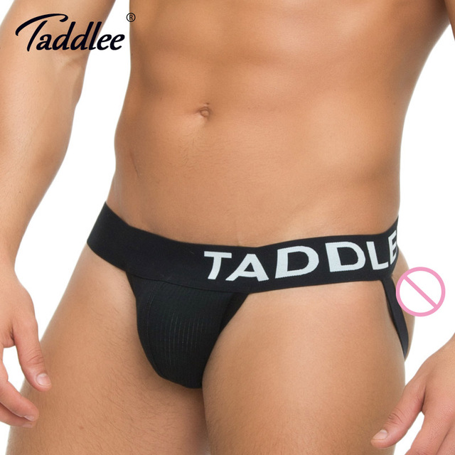 Taddlee Brand 2pcs Men's Jockstraps Underwear