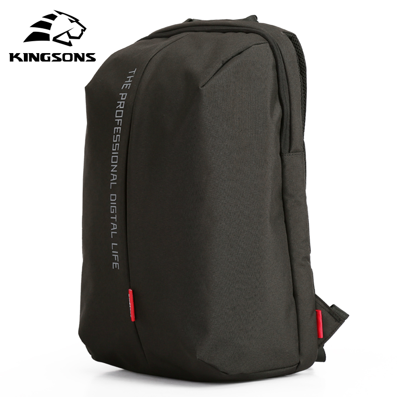 KINGSONS Laptop Backpack 15.6 Inch High Quality Waterproof Nylon Bags Casual Sport Business Dayback Men and Women's Knapsack