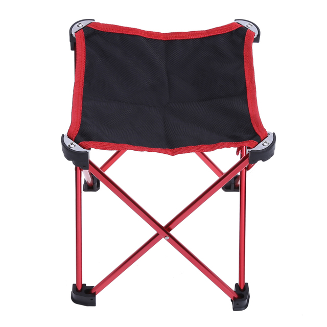 2pcs Lot Portable Lightweight Folding Seat Chair Hiking Camping Stool For Outdoor Leisure Picnic