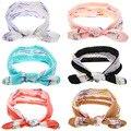O Envio gratuito de 10 pçs/lote Estilo Coelho Headbands Do Bebê Da Menina